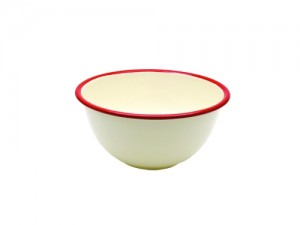 Enamel Medium Round Bowl