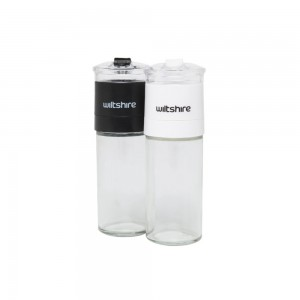 WILTSHIRE GLASS GRINDER SET, 2 PIECES, 12CM