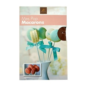 Set of Delicious Pop Macarons